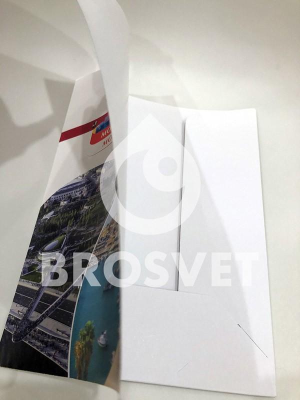 Производство папок для рекламного агенства